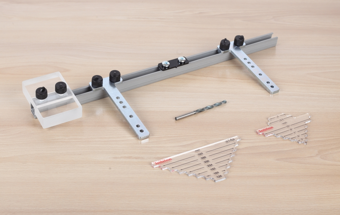 Sablon Handle Jig for Cabinet Hardware Installation on ...